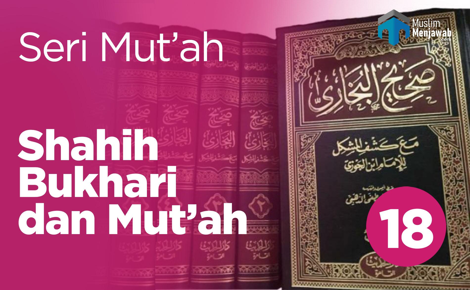 Shahih Bukhari dan Mut'ah